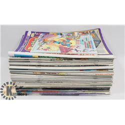 BOX OF COLLECTORS COMICS