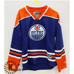 SIGNED OILERS JERSEY