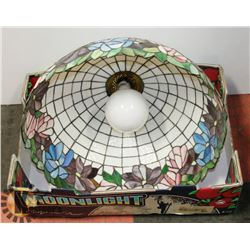 "DECORATIVE LAMP SHADE 20"" WIDE."
