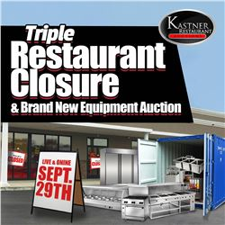 WELCOME TO KASTNER'S RING 2 TRIPLE RESTAURANT