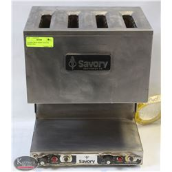 SAVORY DROP DOWN TOASTER MODEL PD 4