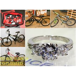 FEATURE LOTS: POLICE SEIZURE BIKES & MORE!