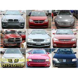 FEATURE LOTS: CARS, TRUCKS & SUVS!