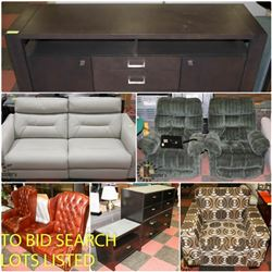 FEATURE LOTS: FURNITURE!