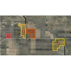 Tracts 1-4 Combined as one lot = 1,863± Acres