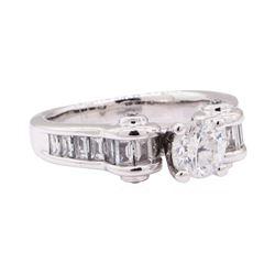 1.52 ctw Diamond Ring - 14KT White Gold