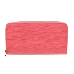 Louis Vuitton Pink Epi Leather Monogram Zippy Wallet