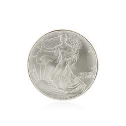 1995 American Silver Eagle Dollar BU Coin