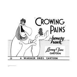 Warner Brothers Hologram Crowing Pains Fog Horn