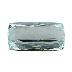6.49 ct.Natural Cushion Cut Aquamarine