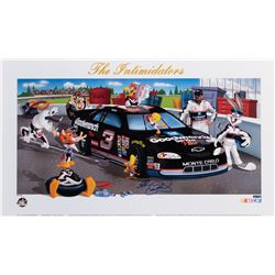 Dale Earnhardt 'The Intimidators' signed limited edition lithograph.