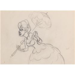 'Little Eva' production drawing from Uncle Tom's Cabana.