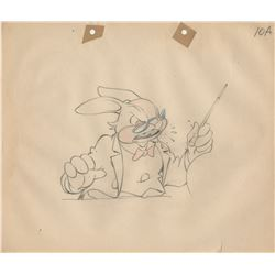 Ub Iwerks Columbia Studios (450+) animation drawings for Color Rhapsodies theatrical shorts.