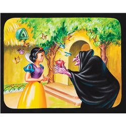 'Snow White' and 'Evil Witch' illustration art for View-Master.