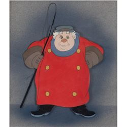 'Coachman' cel on Courvosier airbrush background from Pinocchio.