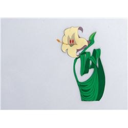 'Lily' production cel from Alice in Wonderland.