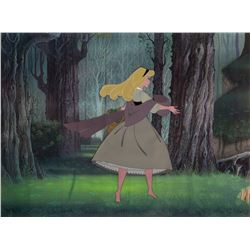 'Briar Rose' production cel from Sleeping Beauty.