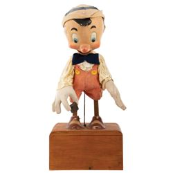 Pinocchio animatronic display from an Ohio department store.