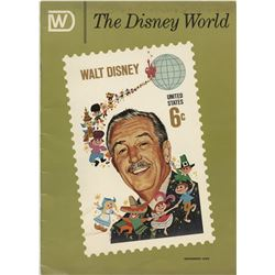 Walt Disney (31) First Day of Issue stamps and envelopes, with program, proclamation and magazine.