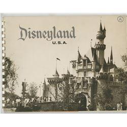 Disneyland (2) early booklets entitled 'Disneyland USA' and 'Edison Square Disneyland USA'.