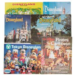 Disneyland Guide Books.