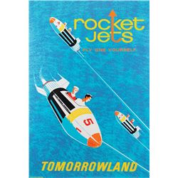 Rocket Jets attraction poster from Disneyland.