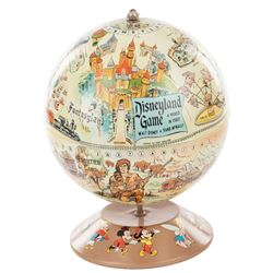 Disneyland Game globe on base.