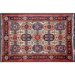 Antique Carpet / Possibly Herize Serapi Tribal Carpet  102100