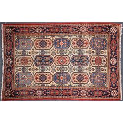 Antique Carpet / Possibly Herize Serapi Tribal Carpet  102102