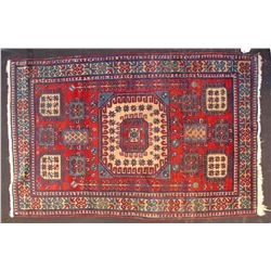 Caucasian Armenian Karachov Kazak Rug  82076