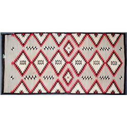 Navajo Rug /  Multi Diamond Design.  109690