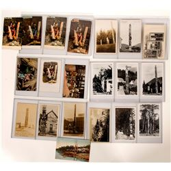 Totem Pole Photo Post Cards  100514