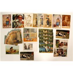 Hopi Moki Women Post Cards  100528