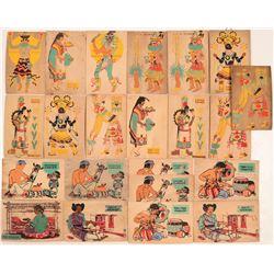 Wooden Hopi Postcards  109090