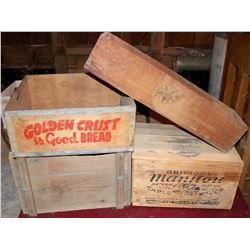 Manitou Mineral Water Original Wood Box  108314