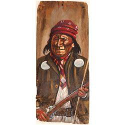 """ Geronimo "" / By Barbara Garland.  109593"