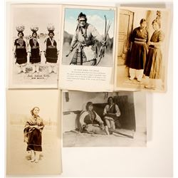 Zuni Indian Post Cards  100529