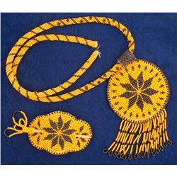 Lakota Sioux Beaded Pieces  75018