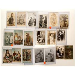 Baby Cradleboard Vintage Postcards  91409