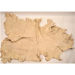 Native American Buckskin Dress & Tap / 2 Items  109608
