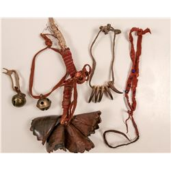 Native American Buffalo Bells/Leg bells & More / 4 Items.  109609