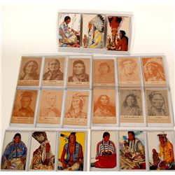 Native American Postcards by Groves and Great Northern Railway  91419