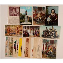 Pocahontas & John Smith  104166
