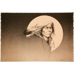 The Sentry - Serigraph by Mike Larsen  101061