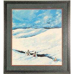 Windy Point -Serigraph by Biss  101006