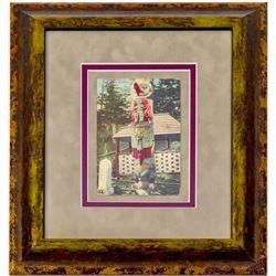 Totem Poll Post Card (Framed)  102729