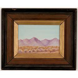 Mighels Desert Landscape  103319