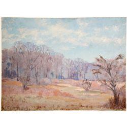 River Through Time Oil Paining by J. La Verne Lane  79166