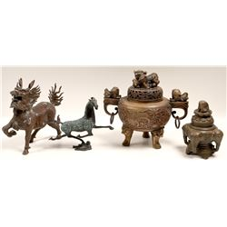 Bronze Sculptures & Urns  108541