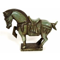 Chinese Carved Soapstone Horse  108512